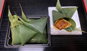 鰻笹葉寿司税込1490円