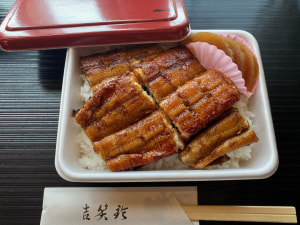 鰻弁当税込1944円